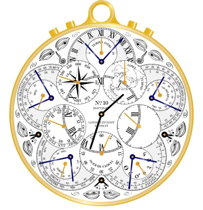 Ричард хоптроф (richard hoptroff) решил, что современным джентльменам, которые проявляют интерес к сверхтехнологичным устройствам, пора бы сменить свои карманные механические часы на нечто более экстравагантное и неординарное.